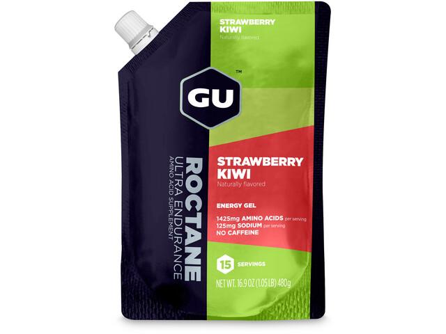 GU Energy Roctane Energy Gel Bulk Pack 480g Strawberry Kiwi